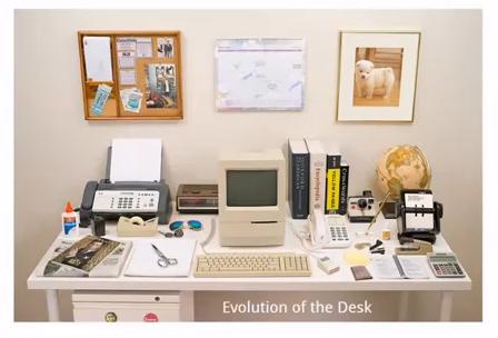 Ecco l'evoluzione della nostra scrivania