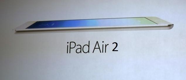 iPad Air 2 alcune novità tecniche e presunte foto