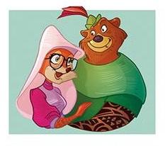 Robin Hood + lady marian