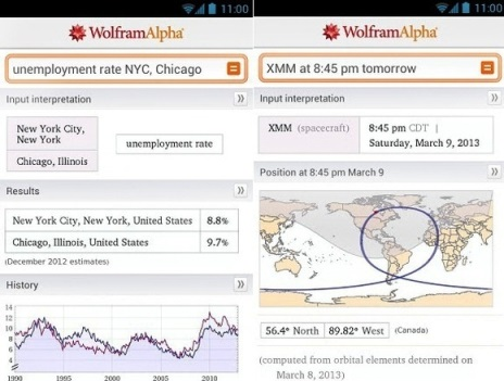 WolframAlpha-Android-App