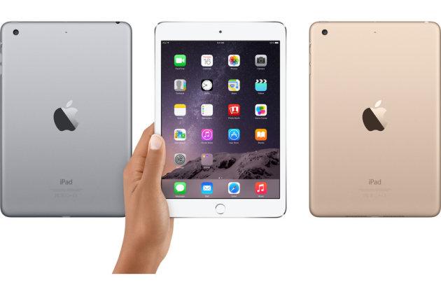 Apple, ufficiale iPad Mini 3 e iPad Air 2: Caratteristiche, Prezzo e Scheda Tecnica