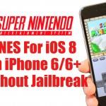 Installare l'emulatore Super Nintendo su iOS8 senza il Jailbreak