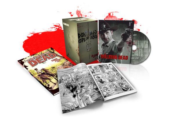 The Walking Dead, DVD e Fumetti in edicola