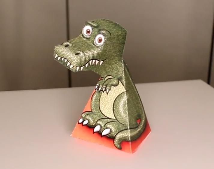 T-Rex, il dinosauro che ti segue [VIDEO]
