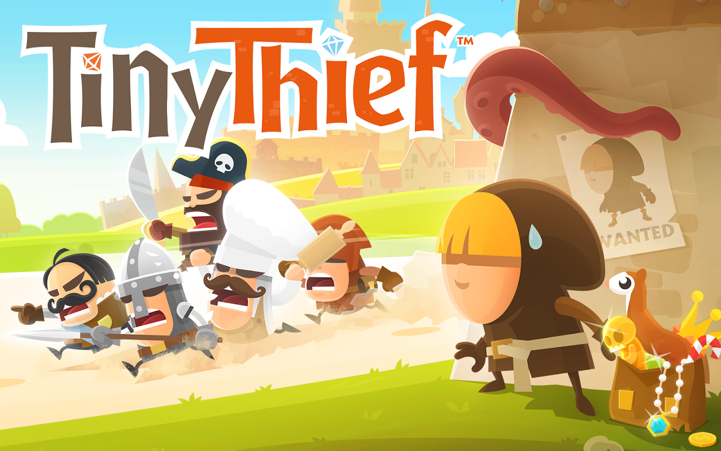 TINY THIEF gratis per Android su Amazon App-Shop solo per oggi