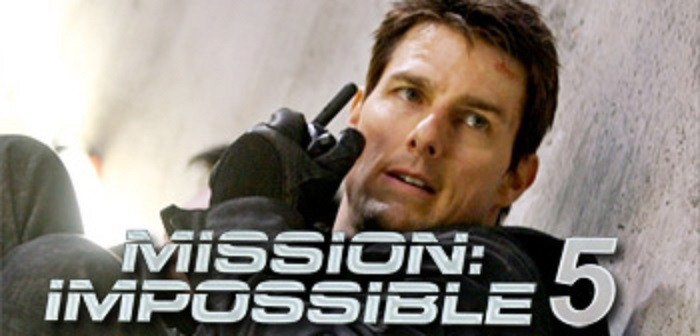 "Prove spettacolari per Tom Cruise in ""Mission Impossible 5"""
