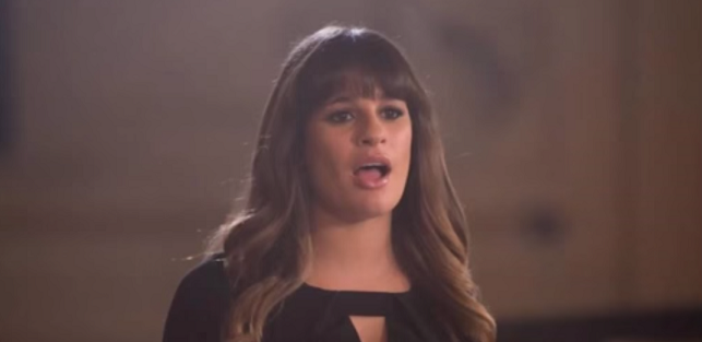 """Glee"": Lea Michele canta ""Let It Go"" [AUDIO]"