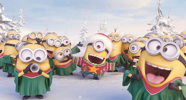 Minions: gli auguri di Buon Natale dei Minion  [VIDEO]