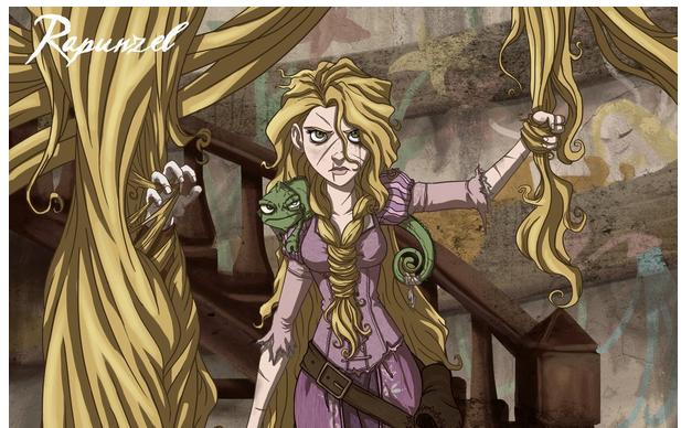 Se i personaggi dei cartoni animati fossero tutti cattivi