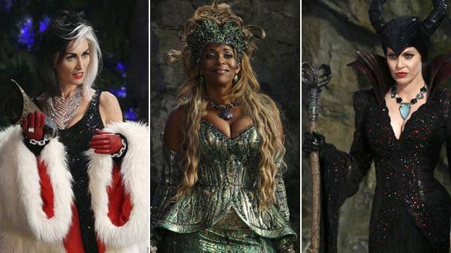 """""""Once Upon A Time 4"""": conosciamo meglio la triade del male (Maleficent, Ursula e Crudelia)"""