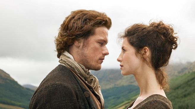 """""""Outlander"""": nuova foto di Claire e Jamie"""