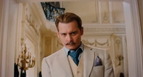 Mortdecai: il primo trailer in italiano del film con Johnny Depp