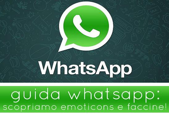Eccezionale WhatsApp: Ecco il significato di tutte le emoticons disponibili  IT38