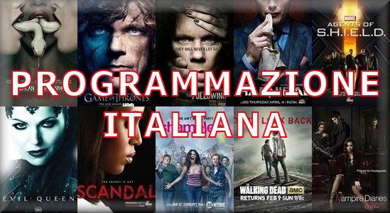 Programmazione Telefilm Italiana