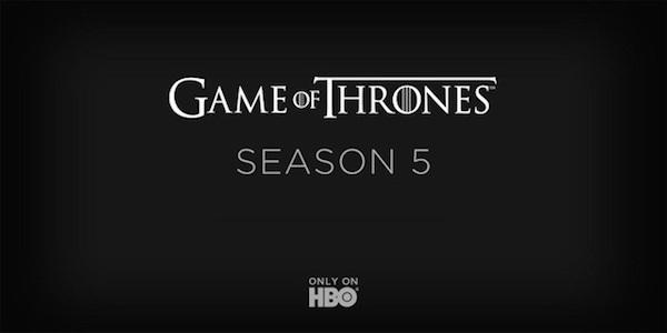 """""""Game of Thrones 5"""": ecco la nuova data di debutto della nuova stagione"""