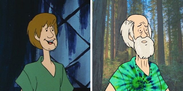 Scooby Doo: ecco i protagonisti 46 anni dopo il primo episodio