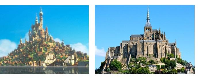 Se i castelli Disney esistessero nel nostro mondo