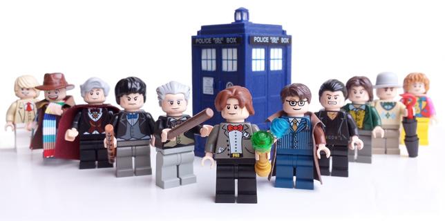 """""""Doctor Who"""": in arrivo i personaggi LEGO"""