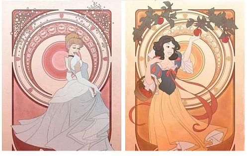Se le Principesse Disney interpretassero i vizi capitali