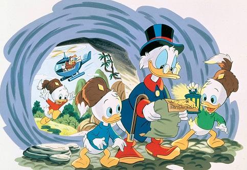 """""""DuckTales"""": la serie animata tornerà nel 2017  con nuovi episodi"""
