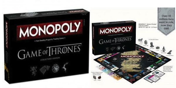 In arrivo il Monopoly di Game of Thrones