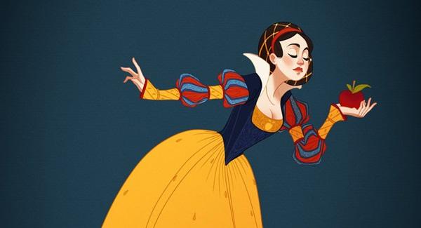 Se le Principesse Disney fossero vestite secondo la loro epoca