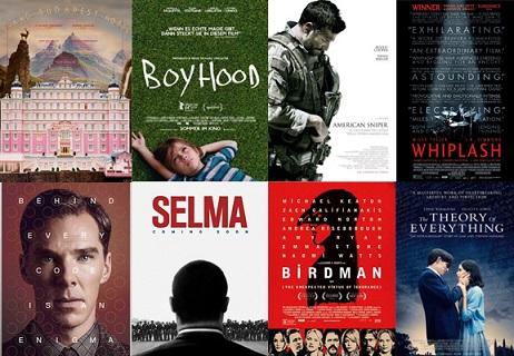 Oscar 2015: ecco gli 8 candidati come miglior film