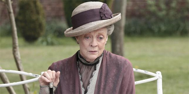 """Maggie Smith non vuole lasciare """"Downton Abbey"""""""