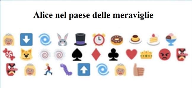 Le Favole Disney raccontate con le emoticon di WhatsApp