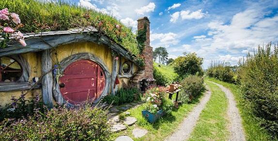"""""""Il Signore degli anelli"""": finalmente è possibile visitare il villaggio degli Hobbit"""