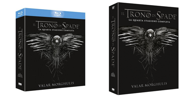 """Game of Thrones"": la quarta stagione disponibile in Blu-Ray e Dvd"