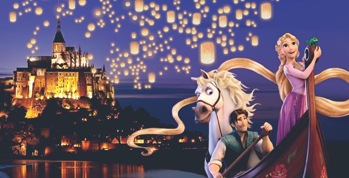 Se le scenografie Disney fossero ambientate nel mondo reale