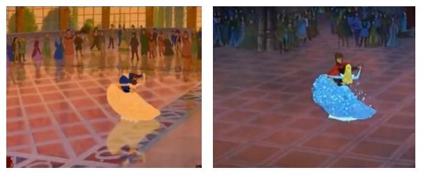 L'incredibile somiglianza tra i cartoni Disney