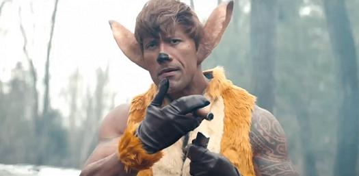 """La parodia di """"Bambi"""" della Disney con Dwayne Johnson"""
