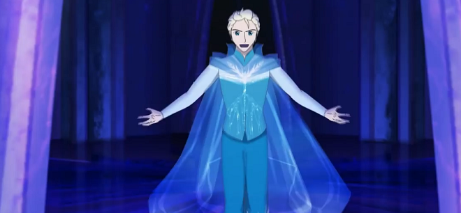 """FROZEN"": il video di Let It Go con Elsa versione maschile"