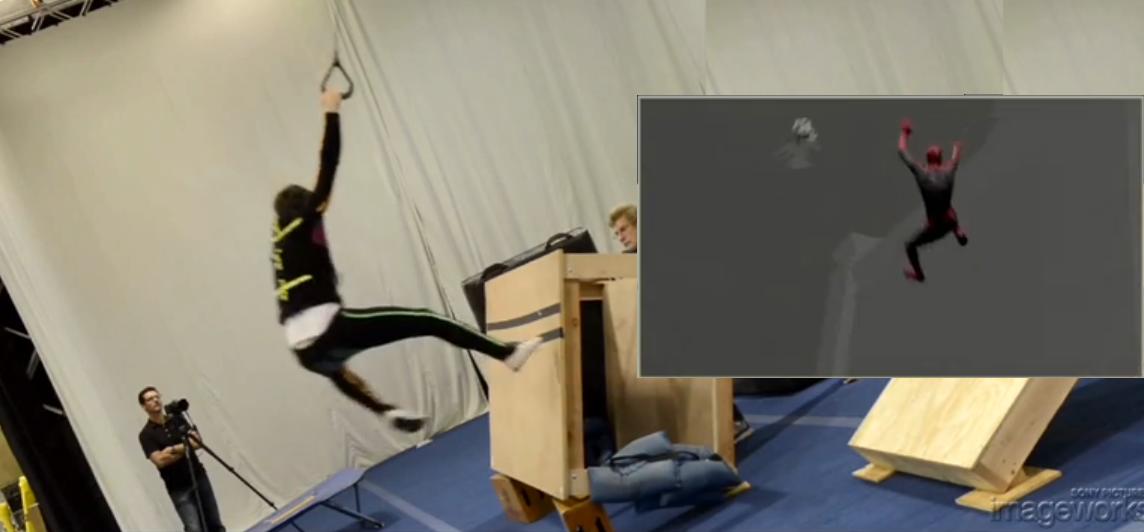 """""""SpiderMan"""": ecco come vengono realizzati gli effetti speciali"""