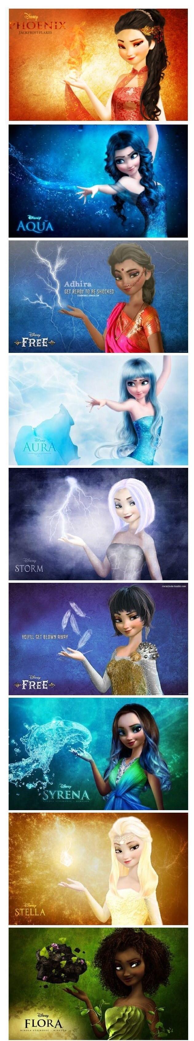 Elsa elementi natura