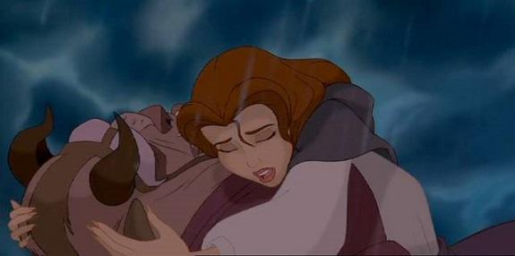Le 10 scene più romantiche dei cartoni Disney
