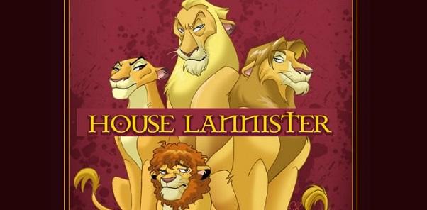 Se gli animali dei cartoni Disney fossero personaggi di Game of Thrones