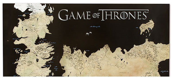 Game of Thrones: arriva la mappa in stile Google Maps