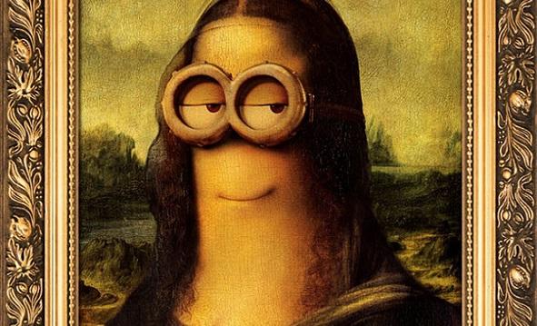Sei i Minion fossero nei quadri famosi