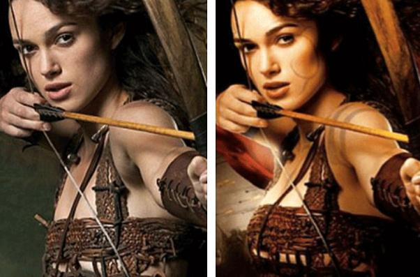 11 Celebrità prima e dopo l'effetto di Photoshop