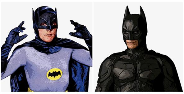 L'evoluzione dei Supereroi nel corso degli anni