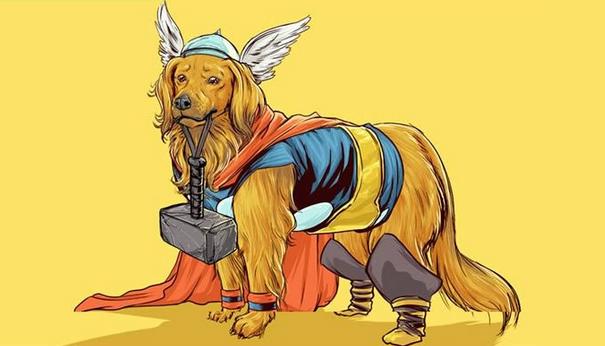 Sei i Supereroi fossero dei cani