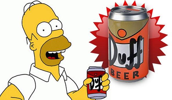 I Simpson: presto sarà vendita la birra Duff
