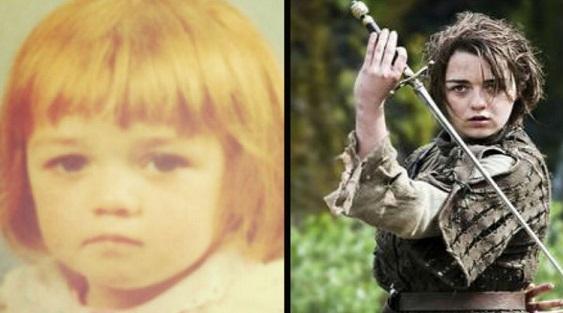 Game of Thrones: come erano gli attori da giovani