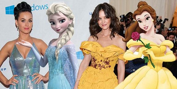 24 volte in cui le celebrità si sono vestite come le Principesse Disney