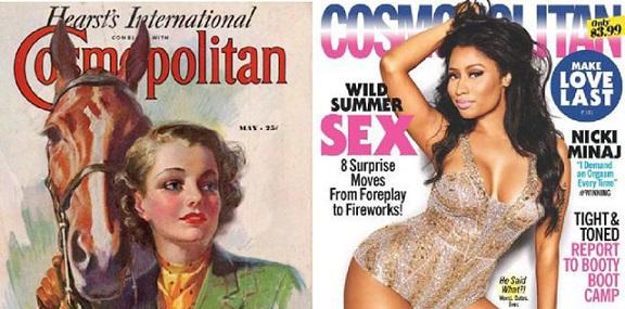 Come sono cambiate le riviste nel corso degli anni