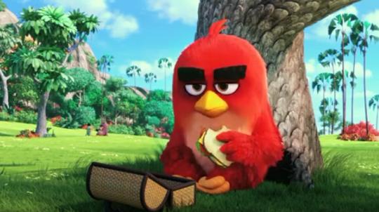 Angry Birds: il primo trailer del cartone