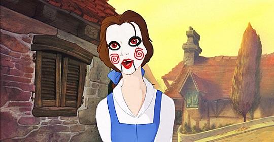 Se le Principesse Disney avessero il viso del pupazzo di Saw – L'enigmista